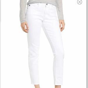 ag  Prima Mid Rise Ankle Cigarette Jeans